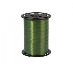 Bolduc satiné Vert olive10 mm / 250 Mètres