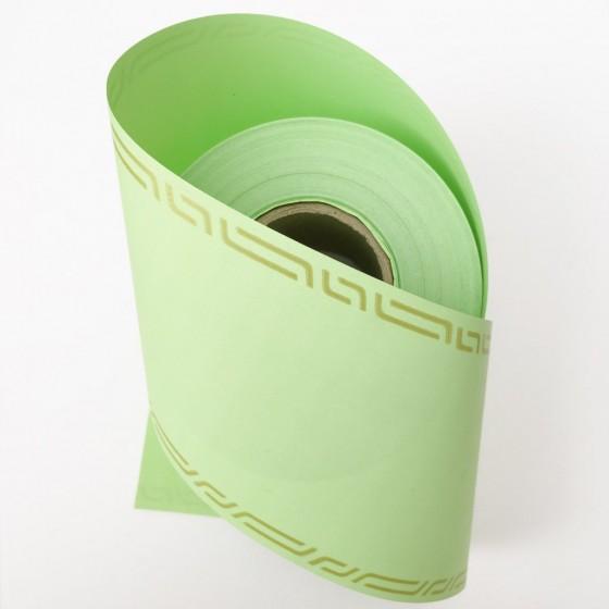Ruban deuil vert pale 75 mm / 50 Mètres
