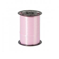 Bolduc satiné Rose pale 10mm / 250 Mètres