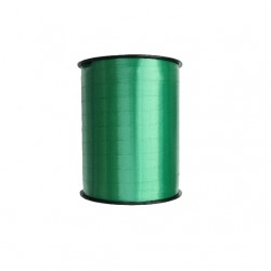 Bolduc satiné Vert 10 mm / 250 Mètres