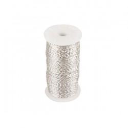 Fil Zigzag Argent 0.30 mm / 100 Grammes