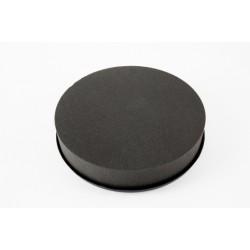 Coussin 28 cm FLORIDE Noir/ 2 Pièces