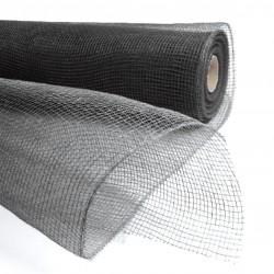 Fibre grillage Noir 55cm/ 9,10 mètres