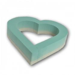 Coeur Ouvert 45 cm Floride / 1 pièce