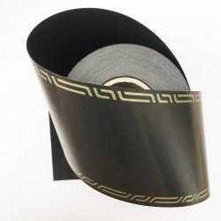 Ruban deuil noir 75 mm / 50 Mètres