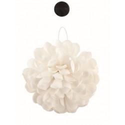 Boule de pétale de fleurs blanche 20cm