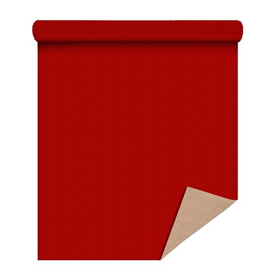 Kraft Brun 60 gr Rouge 80 cm / 40 Mètres