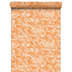 Tissus Intissé orange 80cm / 40 Mètres