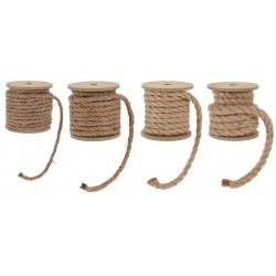 Rouleau de corde en jute 1rouleau