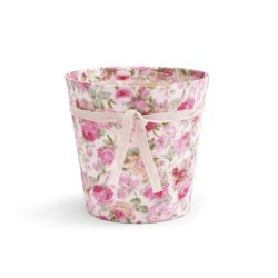 Cache Pot floral Romantic 12 cm / 10 pots