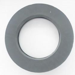 Couronne 50 cm FLORIDE Noir / 2 Pièces